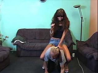 Femdom ponyboy slave