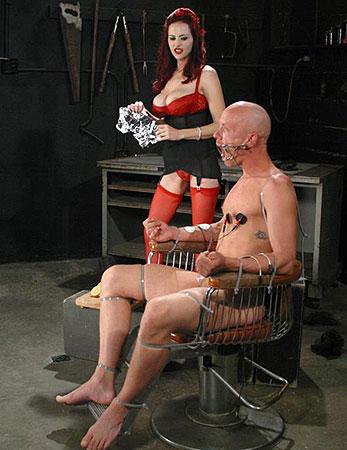 Stockings femdom