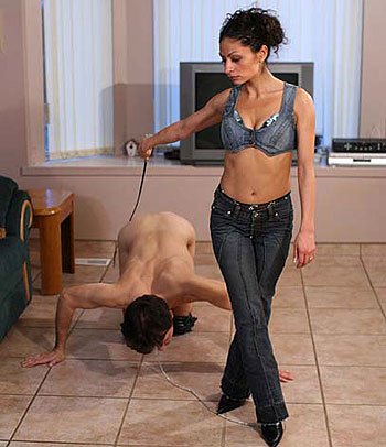 Slave Licking Floor
