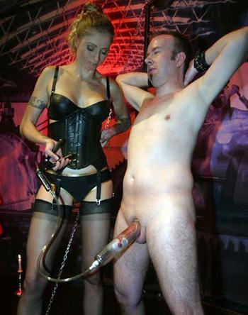 Stockings mistress
