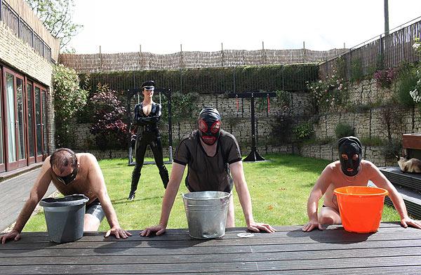 Outdoor Femdom Training