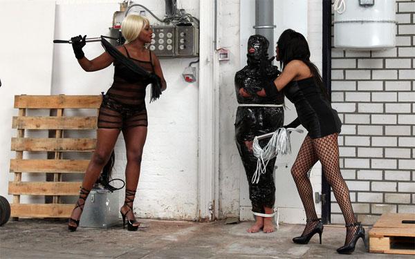 Brutal Ebony Mistresses