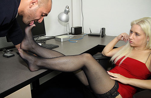 Feet Licking Slave