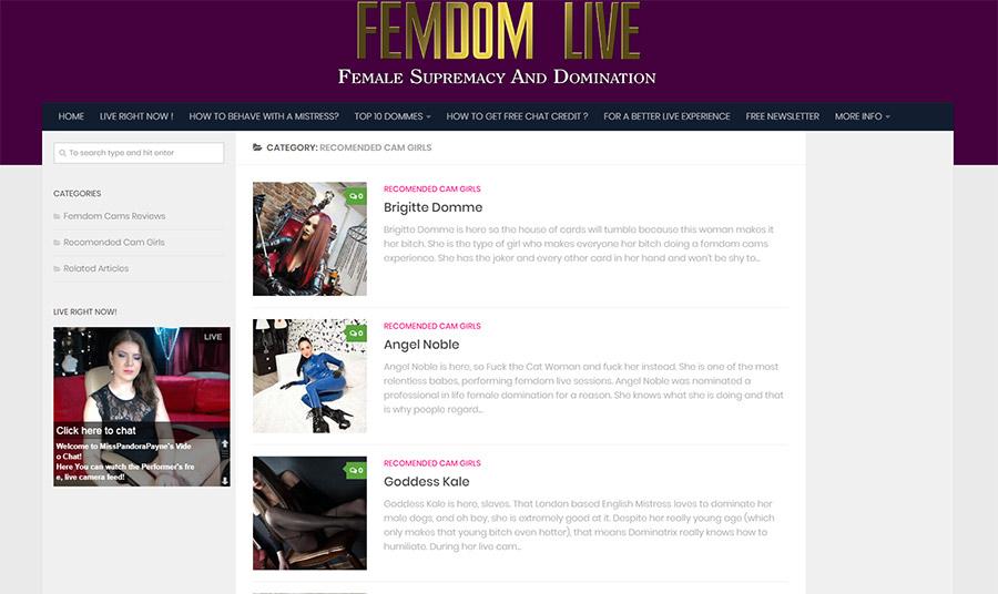 femdom chat